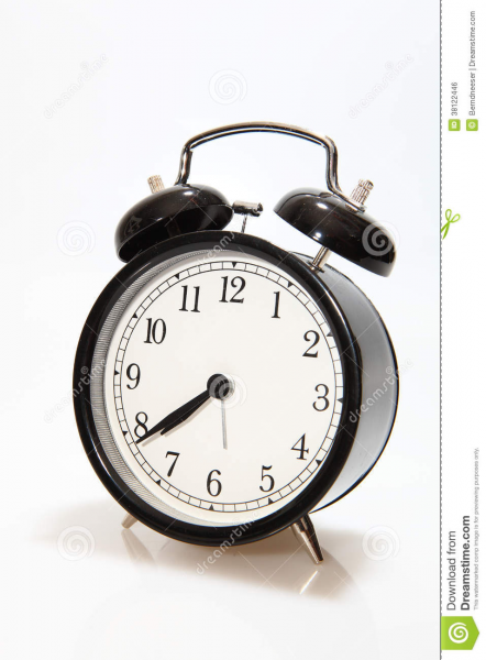 Old-fashioned Alarm Clock Royalty Free Stock Image - Image: 38122446