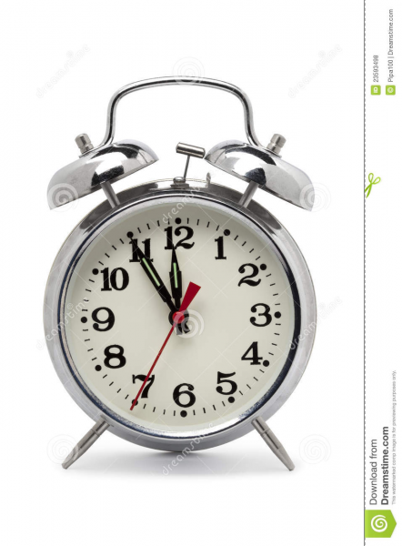 Old Fashioned Metal Alarm Clock Royalty Free Stock Photos - Image ...