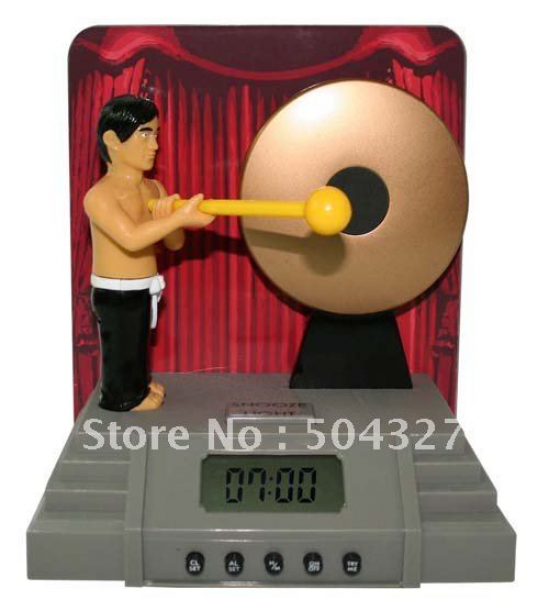 Gong Alarm Clock Bruce Lee Kung Fu alarm clock Designed For Bruce Lee ...