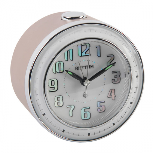 ... High Quality RHYTHM Quartz Travel Alarm Clock. Light & Snooze Function