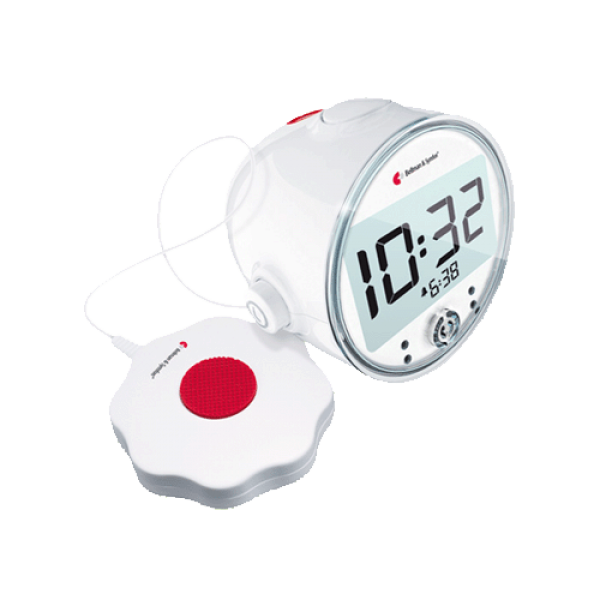 Bellman Pro Vibrating Alarm Clock with LED Flashing Lights by BELLMAN ...