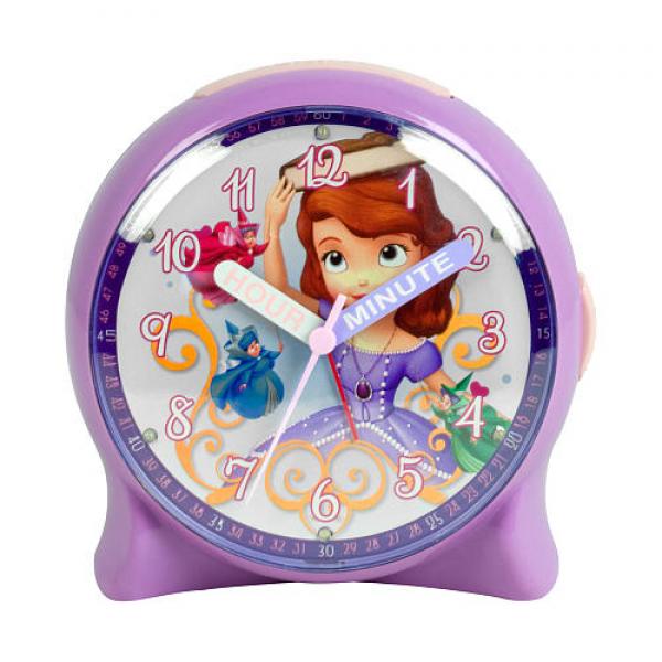 Sofia the First Flashing Lights Alarm Clock - M.Z. Berger & Company ...