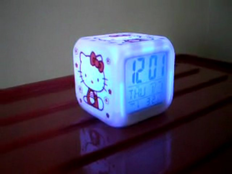 Hello Kitty Alarm Clock