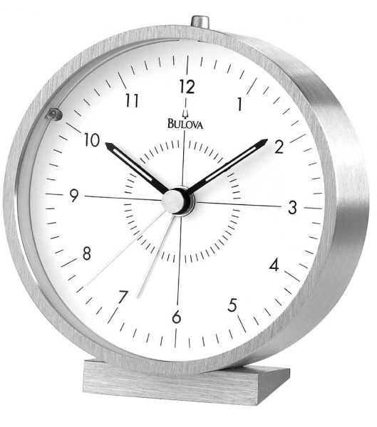 Flair Alarm Clock by Bulova - Bulova Mantel Clocks