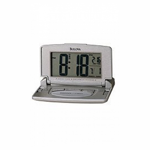 Bulova Bulova Avant II Home and Office Grey Digital Dial Alarm Clock # ...