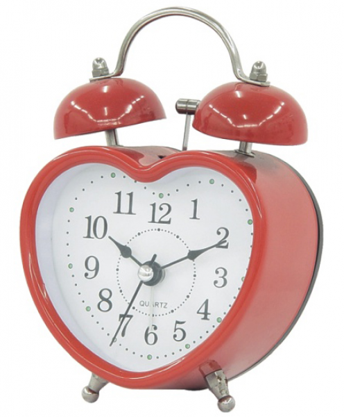 ... Heart Shape Bell Alarm Clock (6027) - China Clock, Bell Alarm Clock