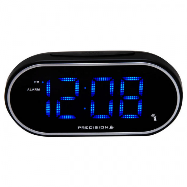 Digital Alarm Clock Face blue led alarm clock