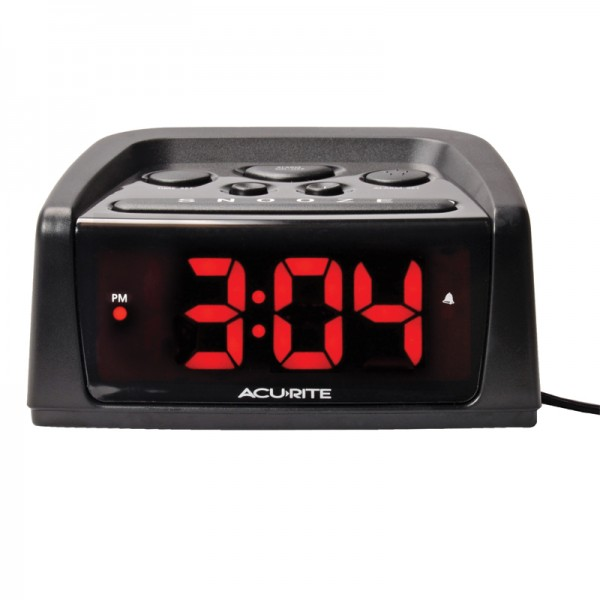 Intelli-Time Digital Alarm Clock with Loud Alarm | AcuRite