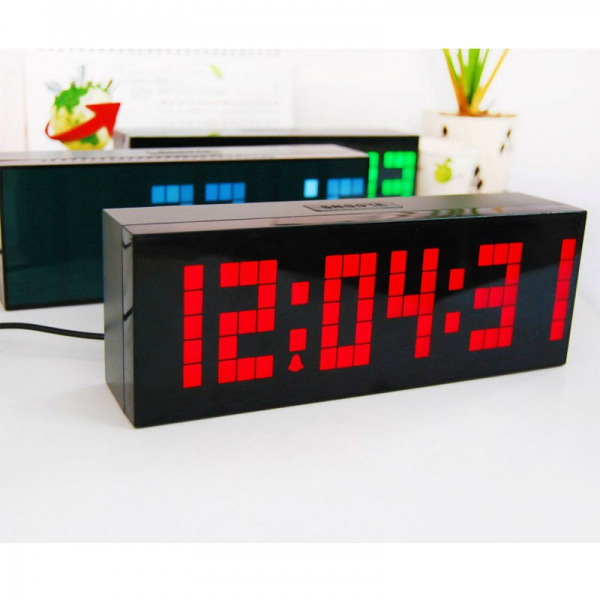 Big Digital Alarm Clocks for Heavy Sleepers with 9.5 inch Colour ...