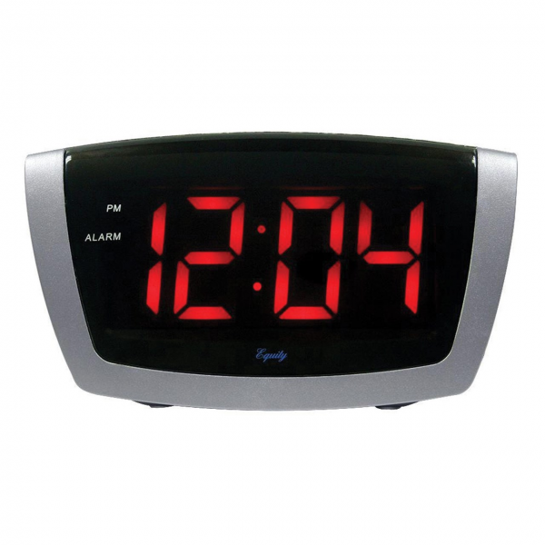 VISION / Clocks / Digital Alarm Clock with 1.8-inch Jumbo LED