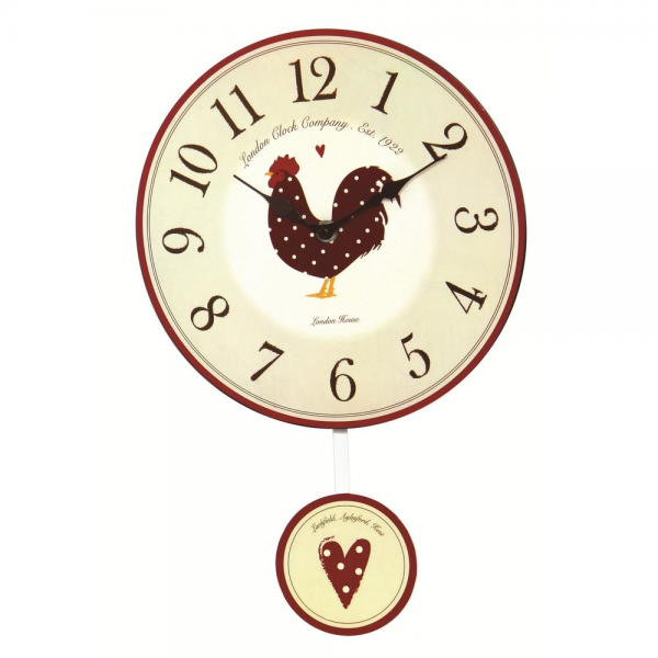 ... London Clock Co › London Clock Co Cream Country Kitchen Wall Clock