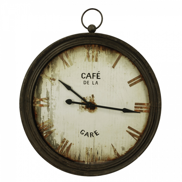 Home » Decor » Home Decor » Clocks » Cafe De La Gare Wall Clock