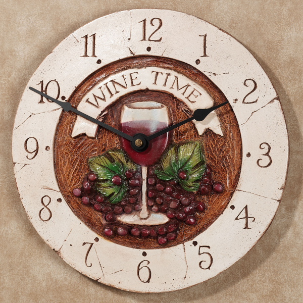 Home > Wine Time Wall Clock