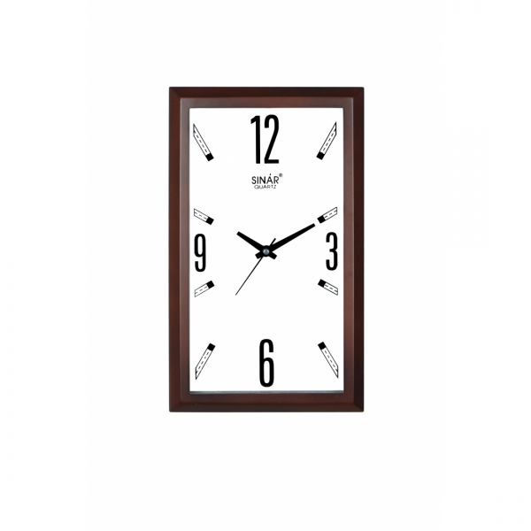 Home DECOR > Clocks > Wall Clocks > Rectangular shaped wall clock