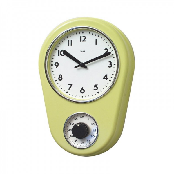 Retro Kitchen Timer Wall Clocks Kitchen Wall Clocks Www Top Clocks Com