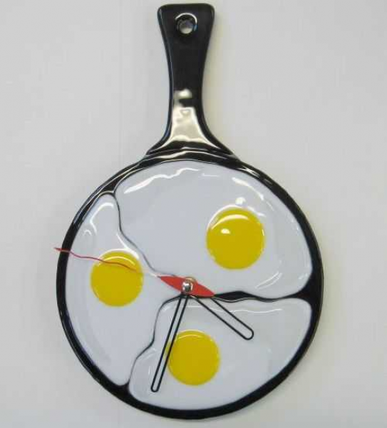 Modern kitchen clock in vintage style, contemporary kitchen furniture