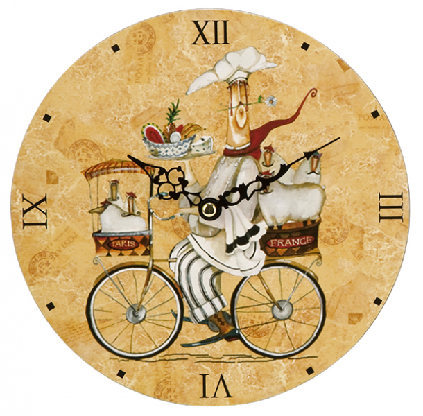 ... French-Country Style Rooster Kitchen Wall Clocks 24 Distributor