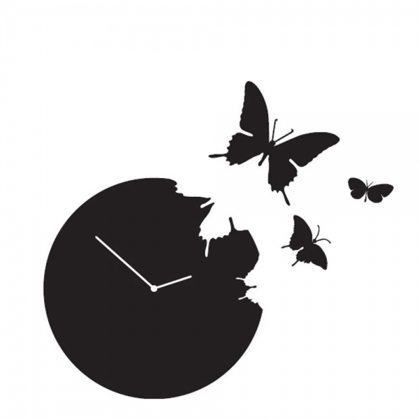 Diamantini & Domeniconi Butterfly Clock | Occa-Home UK