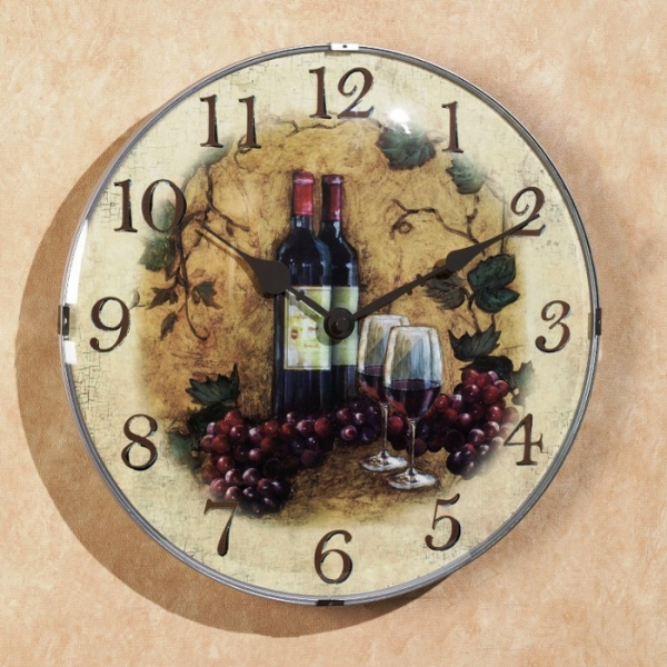 15 Fruity and Stylish Kitchen Wall Clocks - Rilane