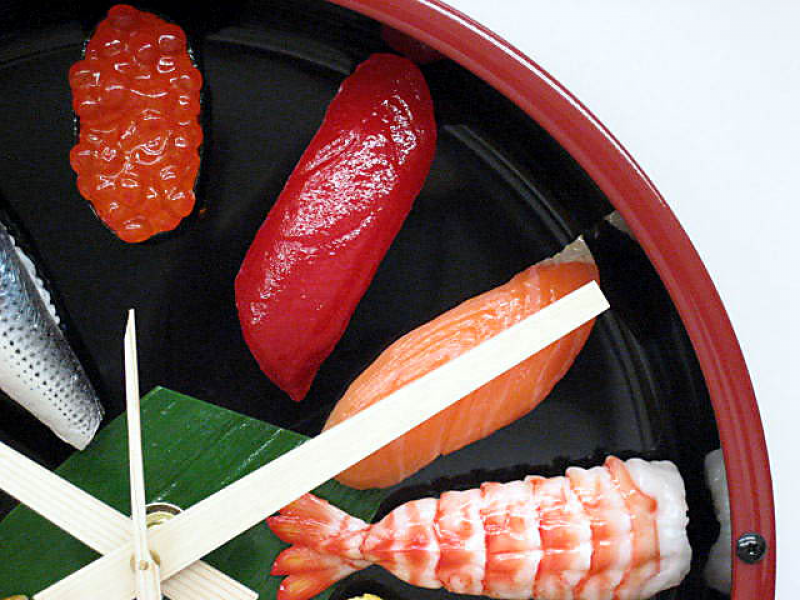 ... Moduretic - CHEAPEST PILLS! Japanese SUSHI Wall Clock « JAPAN Style