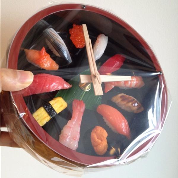 Photoblog] Japanese SUSHI Wall Clock | Japan Style