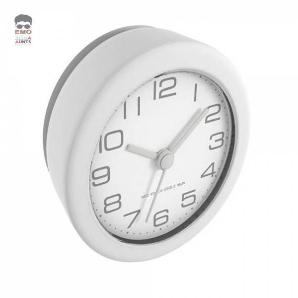 Wall Clock White Bedroom Living Room Bathroom Kitchen Watch Time ...