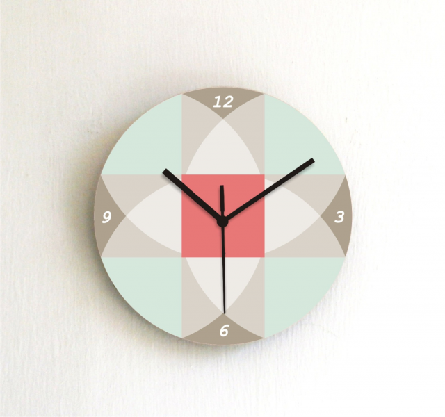 ... wall clock wall art wall hanging home decor kitchen clock living room
