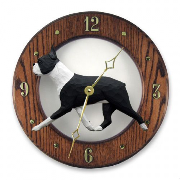 ... Terrier Oak Wall Clock. In Home, Kitchen, Living Room or Den Products