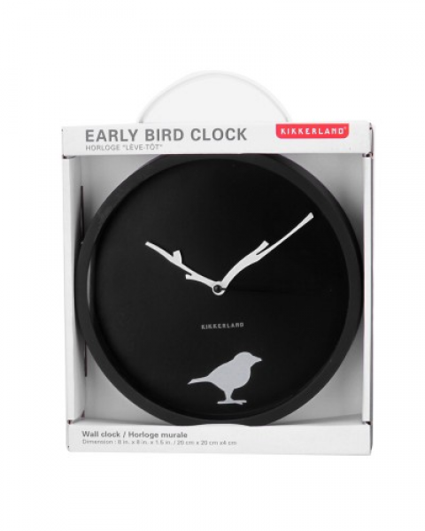 Wall Clock - Early Bird