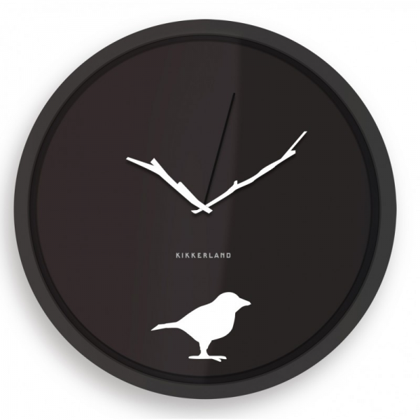 Kikkerland Early Bird 8 Wall Clock