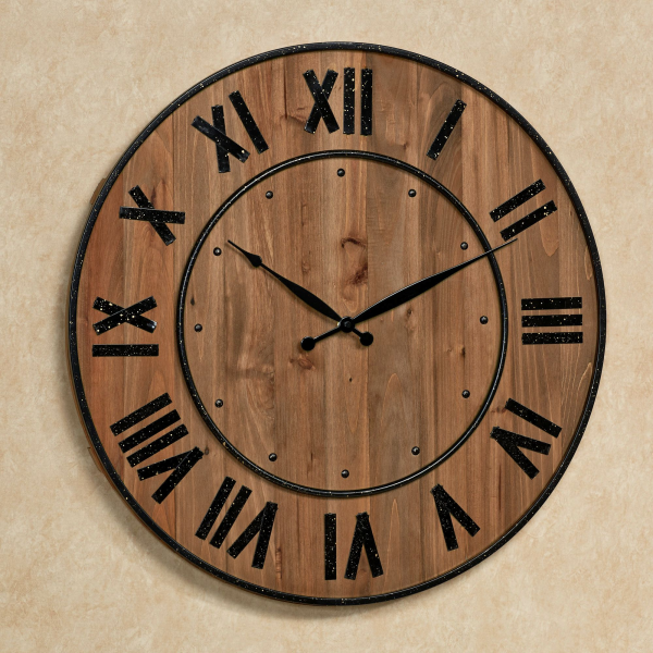 Home > Wine Barrel Wall Clock