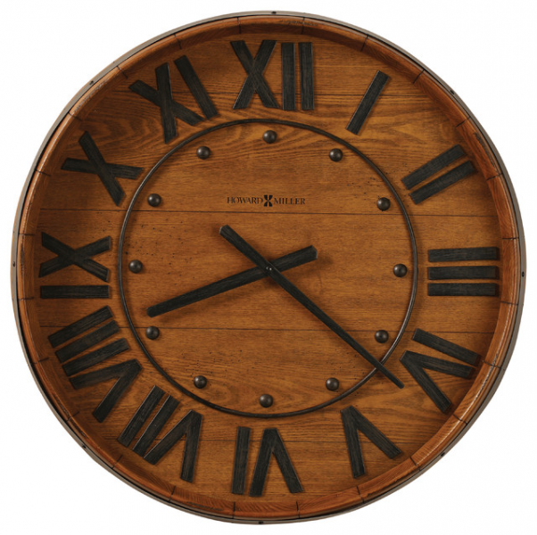... Wall Clock | WINE BARREL WALL - Rustic - Clocks - by Interior Clue