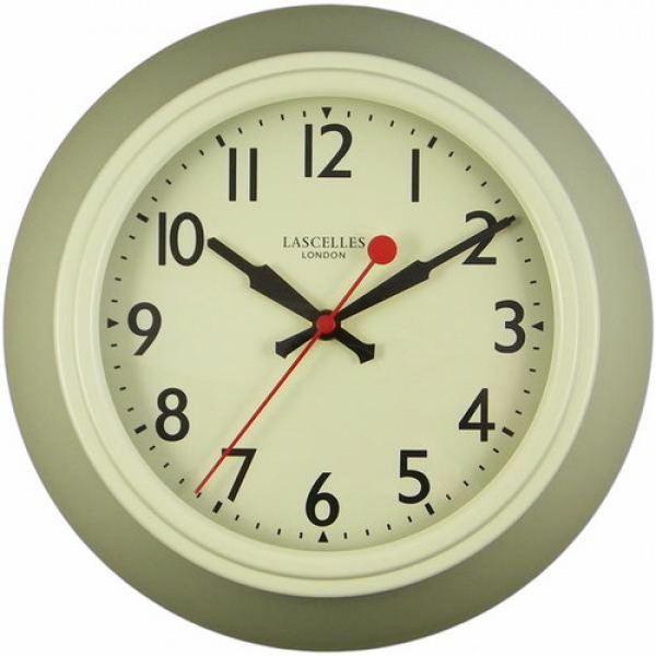Roger Lascelles Clocks Metal Wall Clock I