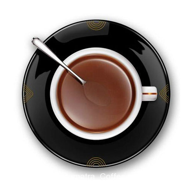 Details about Novelty 3D Coffee Cup Design Wall Clock Black