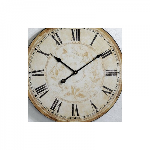 BIG DESIGN IRON WALL CLOCK 59 kitchen watch decoration | eBay
