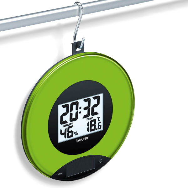 Kitchen Scales and Wall Clock - Apple | IWOOT