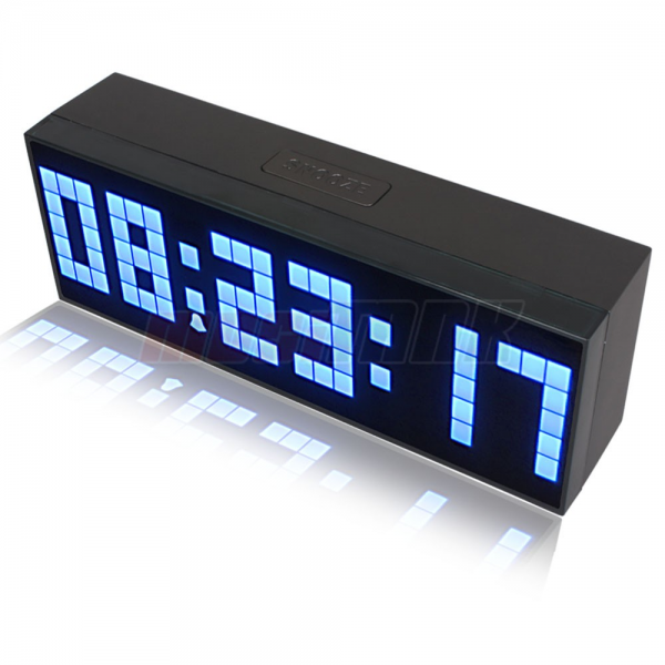 Details about Digital Large Big Jumbo LED snooze wall desk alarm with ...