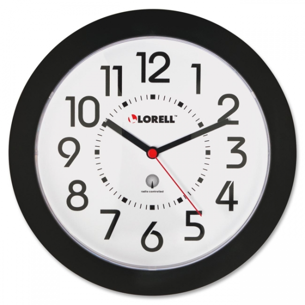 Lorell Radio Controlled Wall Clock LLR60990 | iBuyOfficeSupply