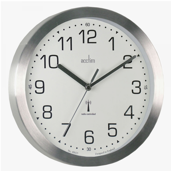 Radio Controlled Analogue Wall Clocks - Mason Radio Controlled Wall ...