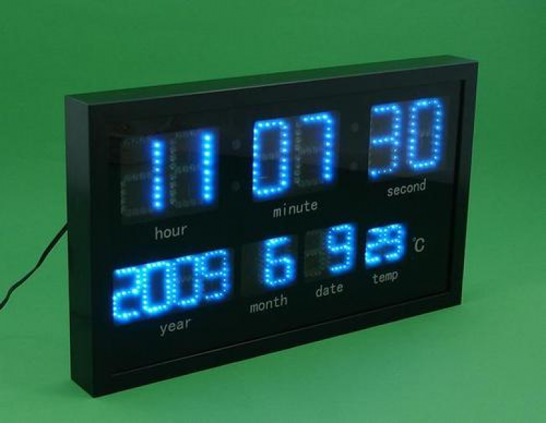 jidelong fujian china electronic co ltd led digital wall clocks