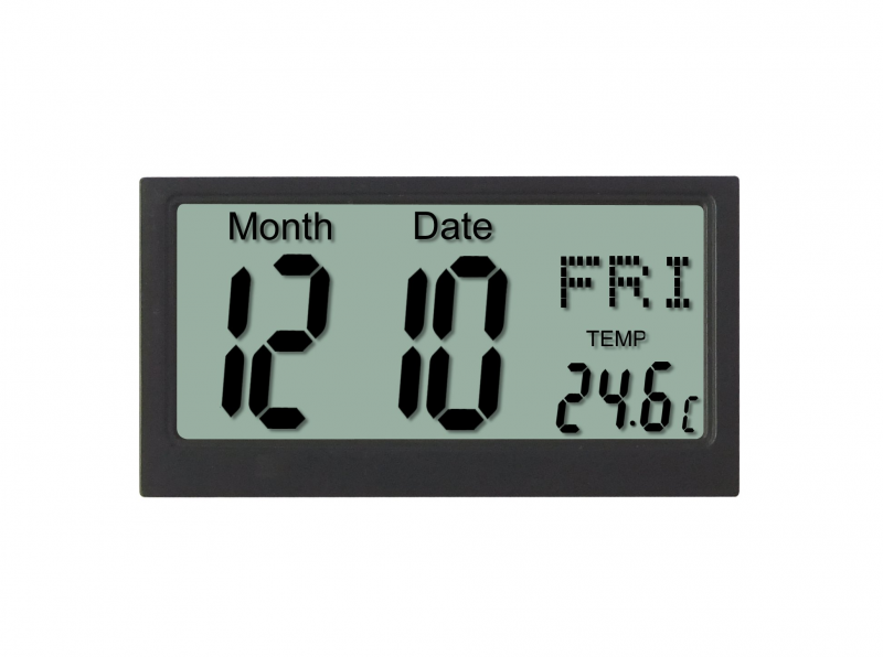 China 1.5V Portable Electronic Calendar Digital Suits For Wall Clock ...
