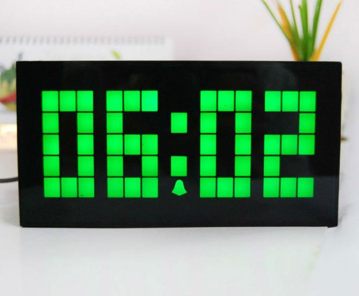 Green digital wall clock digital wall clocks www top Digital led wall clock