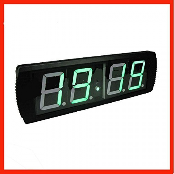 GOWE Remote green new indoor digital wall clock timer [Misc.] - Tools