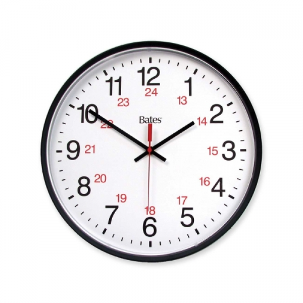 ... Wall Clocks :: GBC Commercial 12/24 Hour Electric Wall Clock - Digital