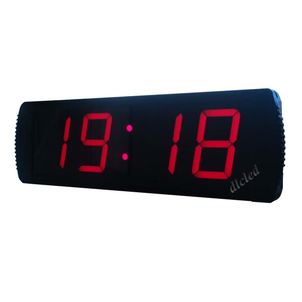 Large LED Digital Wall Clock Hours Minutes format Support 12/24 ...