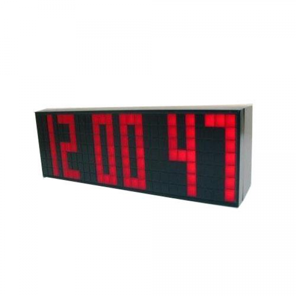 Digital Portable Red LED Clock with A Big Time Snooze Wall Desk Alarm ...