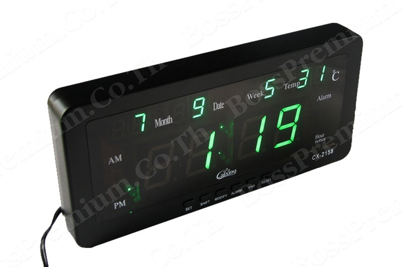 ... digital wall clock digital wall clock led cx 2158 premium digital wall