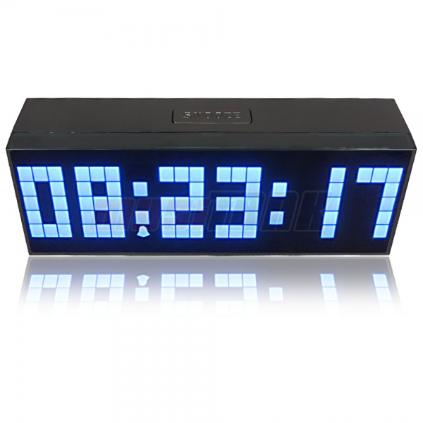 ... Jumbo LED Snooze Wall Desk Alarm Indoor Calendar Travel Clock | eBay