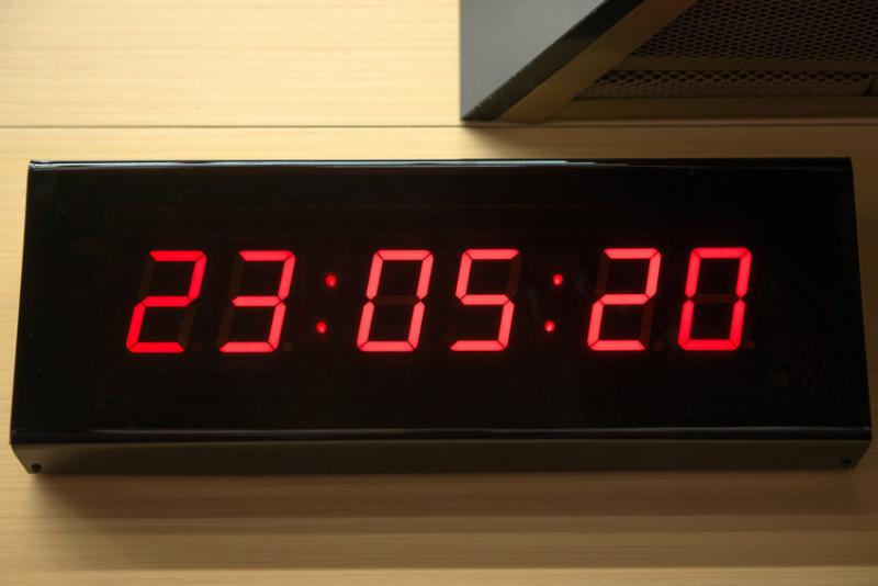 Small digital wall clocks digital wall clocks www top Digital led wall clock
