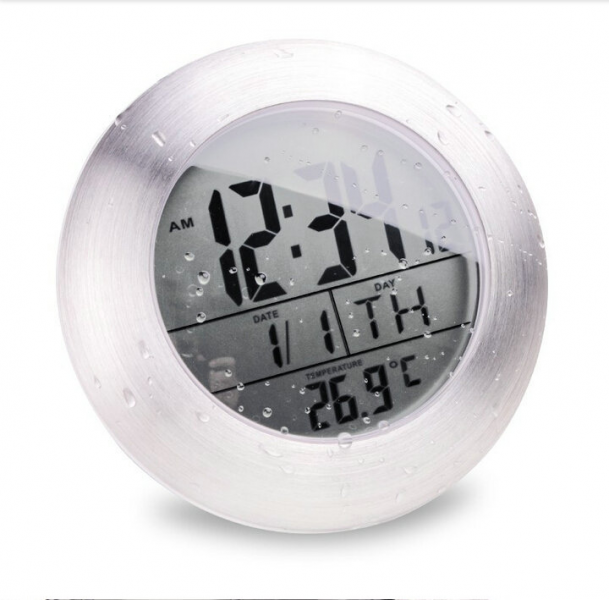 -Shower-Silent-Digital-Clocks-Bathroom-Kitchen-Wall-Suction-Cup-Clock ...